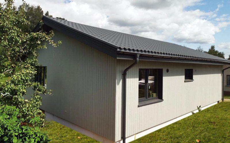 Kaune pastatytas segmentinis namas Folkroost 70